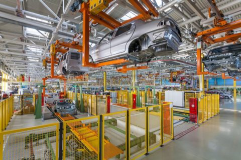 OEE car plant production